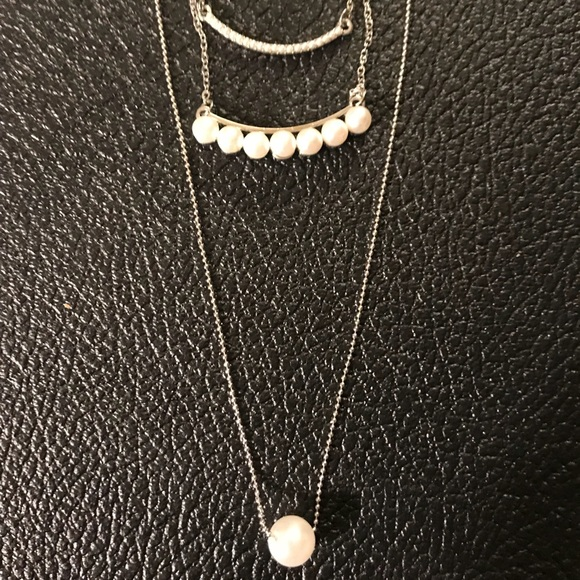 Jewelry - Tri-layered Pearl Necklace